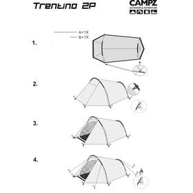 CAMPZ Trentino Zelt 2P